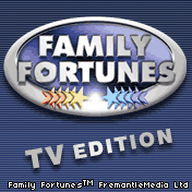 Family Fortunes TV Edition